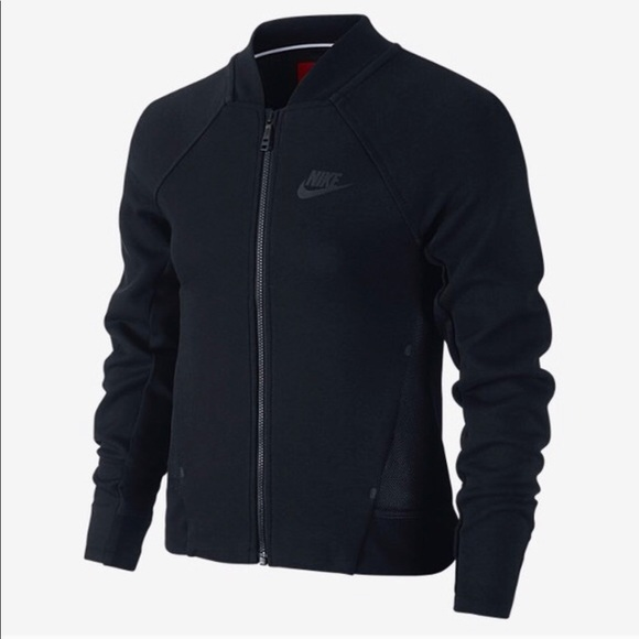 Nike Jackets & Blazers - Nike Girls Tech Fleece Bomber Jacket